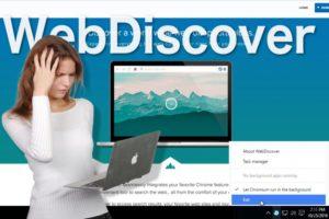 WebDiscover Selain