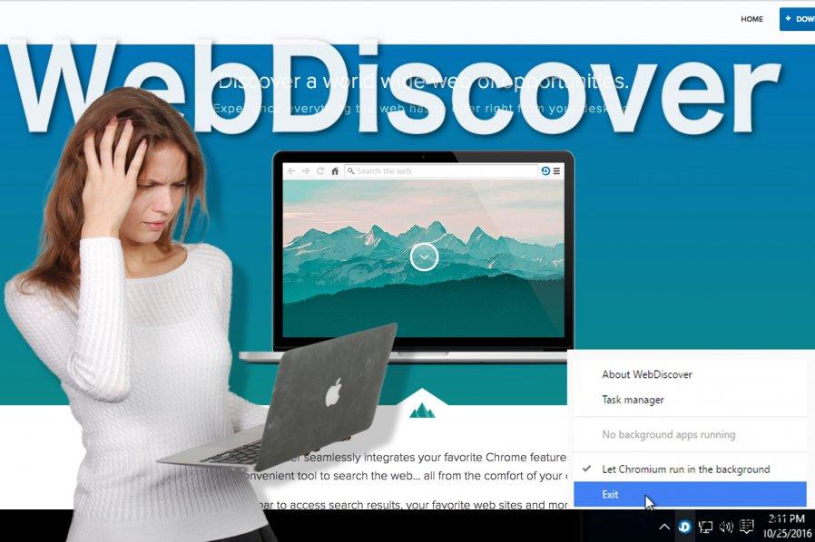 WebDiscover Selaimen kuva
