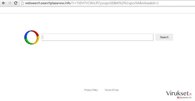 Websearch.searchplazanow.info virus kuvankaappaus
