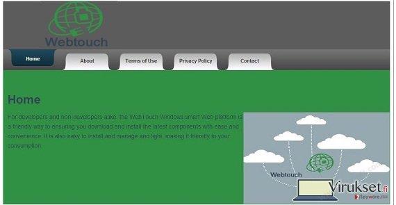 Webtouch virus kuvankaappaus