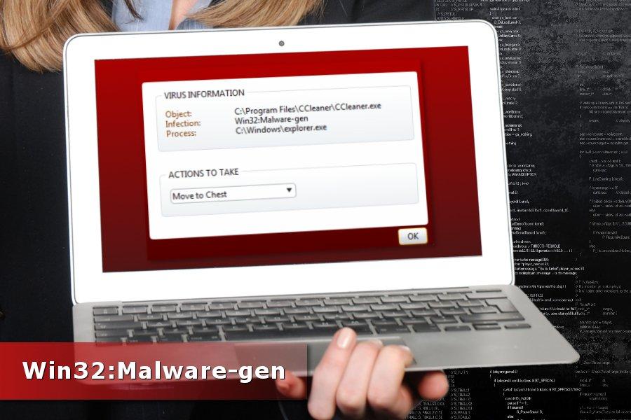 Win32:Malware-gen tunnistus