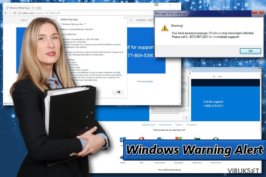 Windows Warning Alert kuva