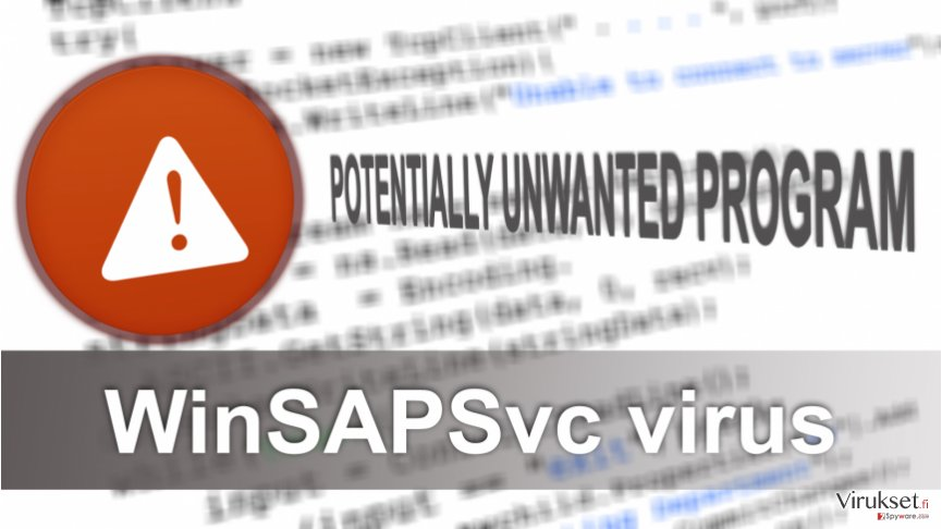 Image of WinSAPSvc virus
