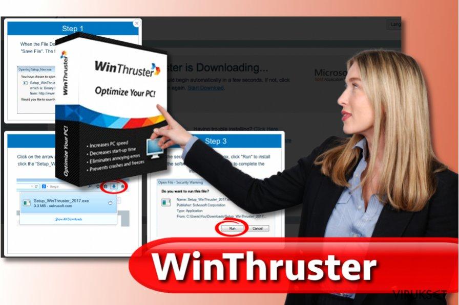 WinThruster virus kuvankaappaus