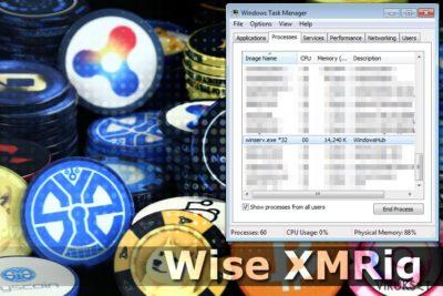 Wise XMRig CPU Louhija