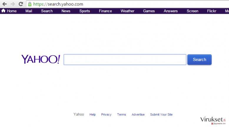 Yahoo Community SmartBar kuvankaappaus