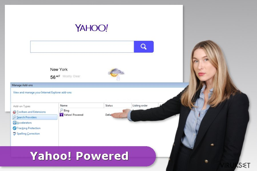 Yahoo Powered kaappaajan esimerkki
