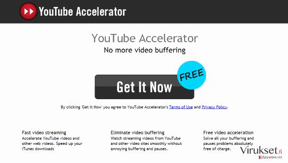 Youtube Accelerator kuvankaappaus