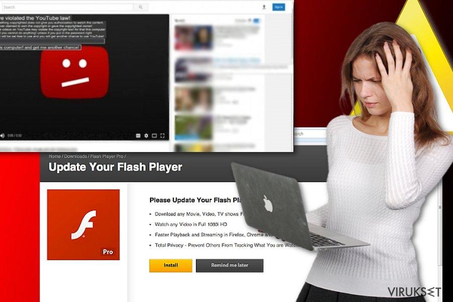 Youtube viruksen esimerkkejä