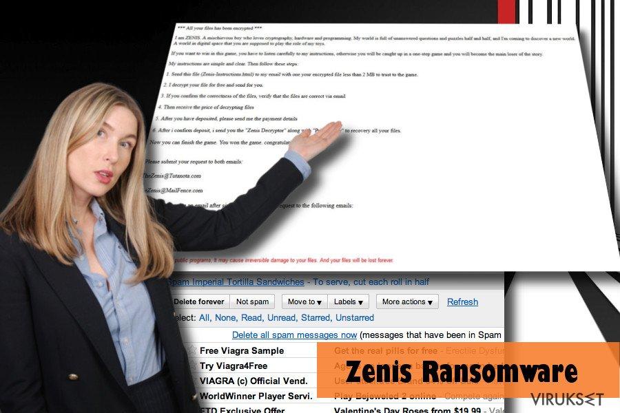Zenis viruksen saastuttama PC: esimerkki