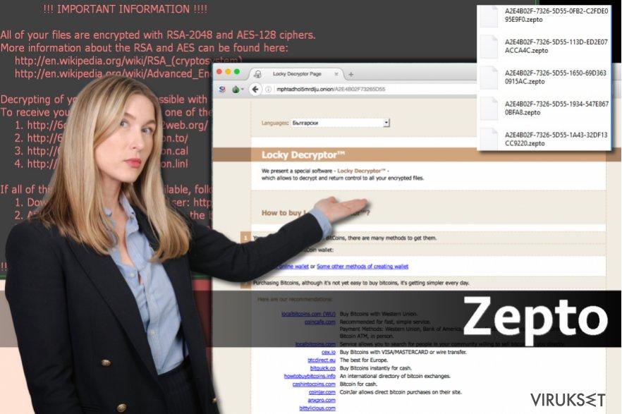 Zepto virus kuvankaappaus