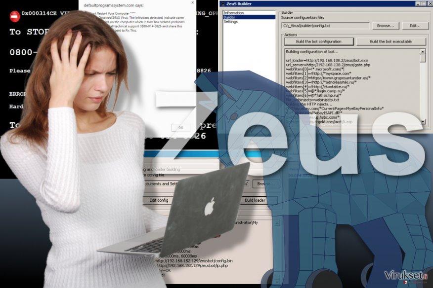 Zeus viruksen kuva